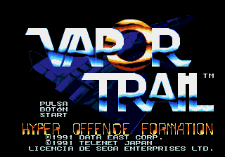 Vapor Trail: Hyper Offence Formation