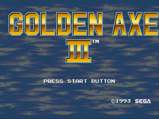 Golden Axe III - Gryphon Hack
