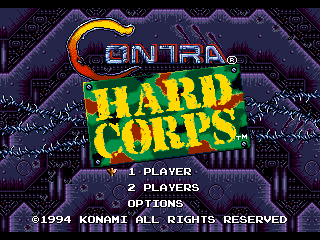 Contra Hard Corps Hit Points Restoration Hack
