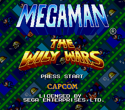 Mega Man the Wily Wars SRAM+