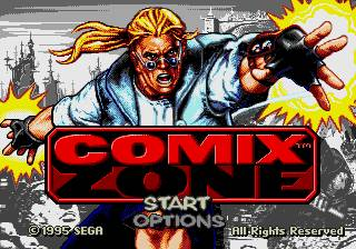 Comix Zone - Calcium kid edition