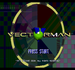 Vectorman - Weapon Select