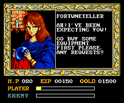 Ys: Ancient Ys Vanished Omen (MSX2)