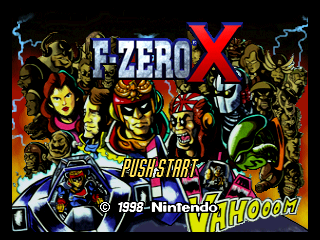 F-Zero X - No 64DD crash