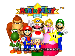 Mario Party - No 64DD crash