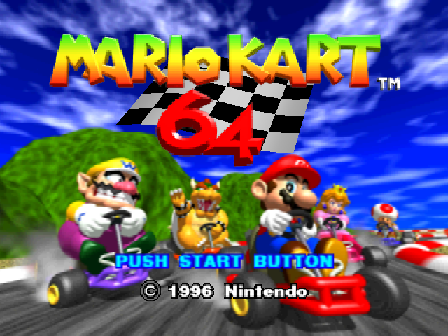 Mario Kart 64 CPUs use human items including shells
