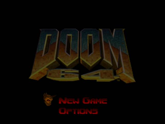 Doom 64 Brightness + Features Menu
