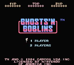 Ghosts'n Goblins Restoration