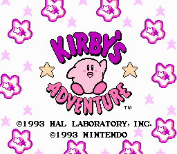 Kirby's Adventure: Debug Edition