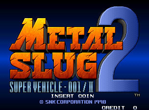 Metal Slug 2 CD Turbo - Slowdown Reduction Patch
