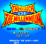 SNK Vs Capcom - Match of The Millennium