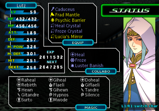 Phantasy Star Generation:1