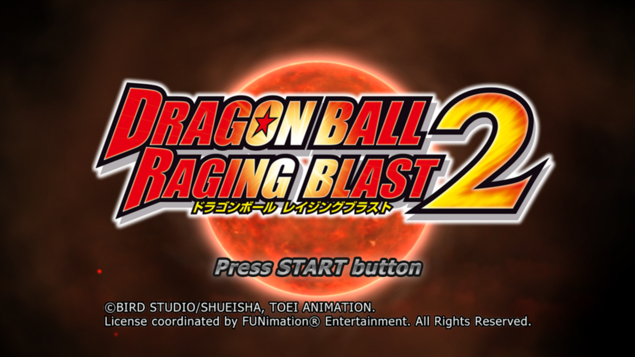 Dragon Ball Raging Blast 2 PS3 Anime Music