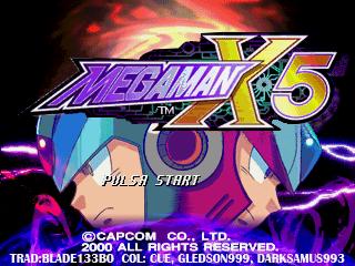 Romhacking net - Translations - Mega Man X5