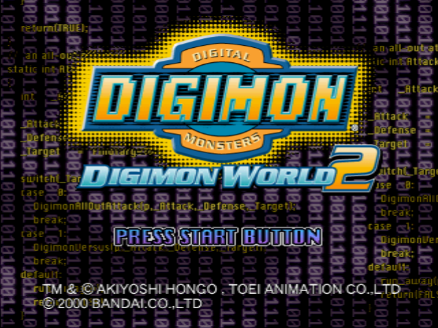 Digimon World 2 Improvement Hack
