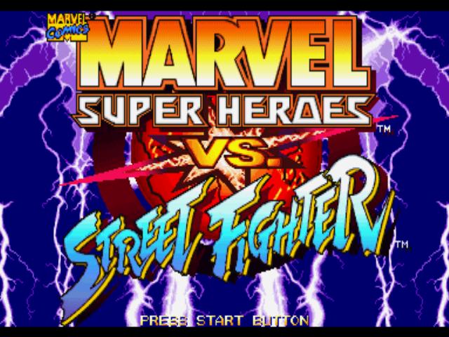 Romhacking Net Games Marvel Super Heroes Vs Street Fighter