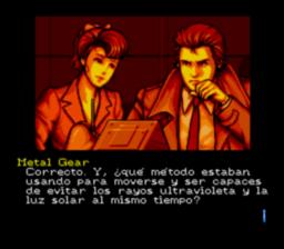Snatcher megacd castellano traduccion