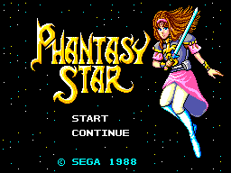 Phantasy Star - Brunette Alis