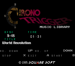 Chrono Trigger - Music Library