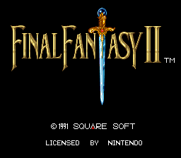 Final Fantasy II Speedrun Practice