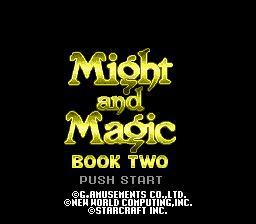 Might and Magic: Book Two