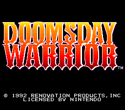 Doomsday Warrior