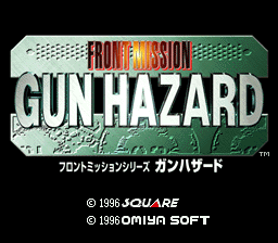 Romhacking Net Translations Front Mission Gun Hazard