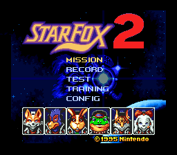 Star Fox 2 - 52MHz Overclockable