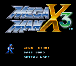 Mega Man X3 - Sound Test