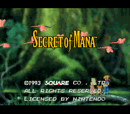 Secret of Mana - Relocalized