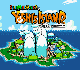 Yoshi's Island - No Crying, Improved SFX and Red Coins