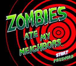 Zombies Ate my Neighbors Orange Juice