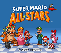 Super Mario All-Stars Censored