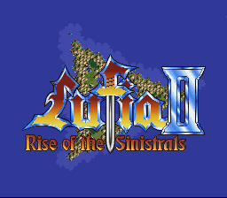 Lufia II: Age of the Sinistrals
