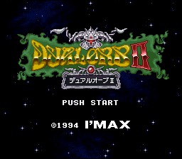 Original Title Screen