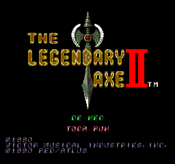 The Legendary Axe II