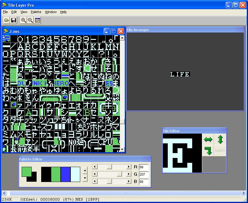 Romhacking Utilities Tile Layer Pro