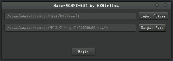 Romhacking net - Utilities - MakeROMFS-GUI (Linux)