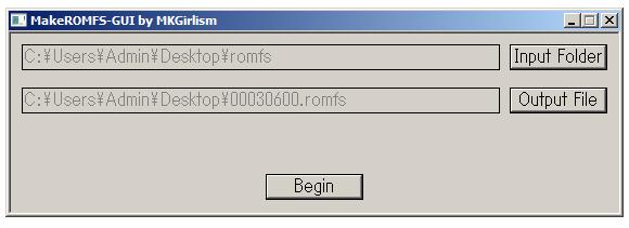 Romhacking net - Utilities - MakeROMFS-GUI (Windows)