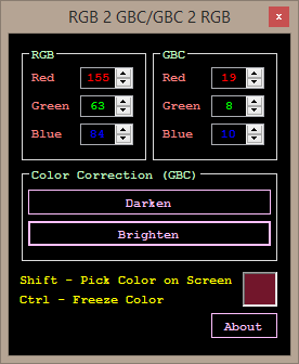 RGB2GBC (Color Ripper)