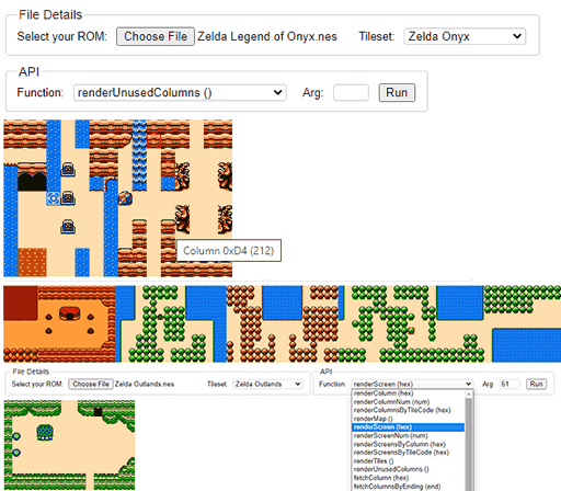 Legend of Zelda Map Generator