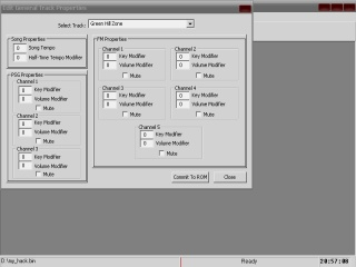 Sonic One Music Editor