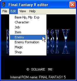 final fantasy v psx cheat codes