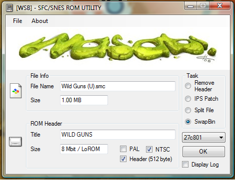 Romhacking net - Utilities - SNES ROM Utility