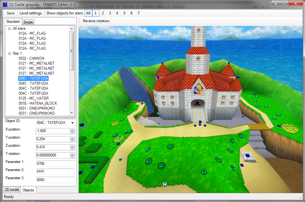 Romhacking utilities super mario 64 ds editor screenshot gumiabroncs Image collections