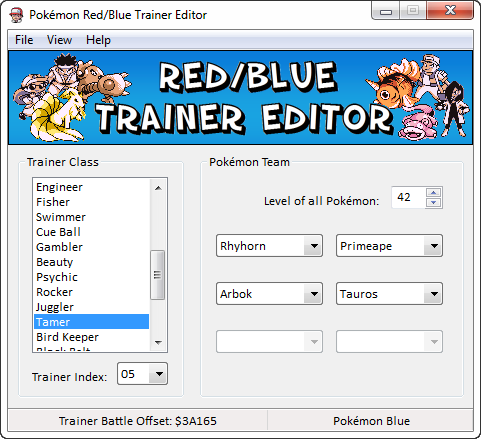 pokemon red and blue rom