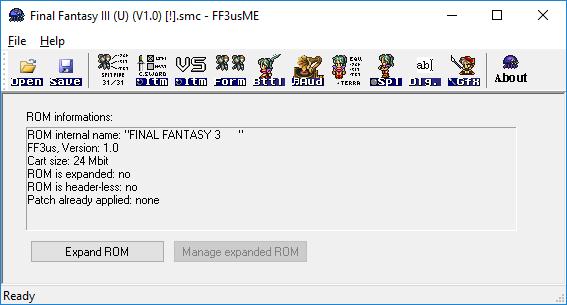 Romhacking Net Utilities Final Fantasy Iii Us Multi Editor Ff3usme